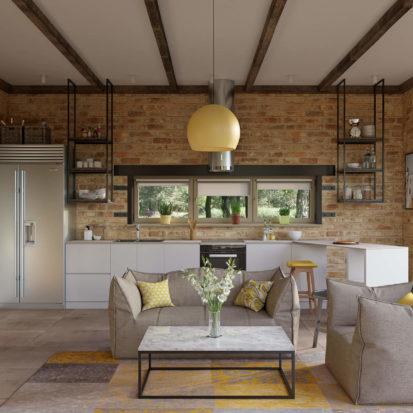 Дизайн гостиной интерьер дома