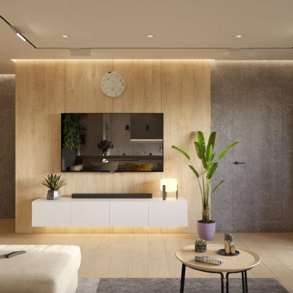 Дизайн гостиной проект трехкомнатной квартиры