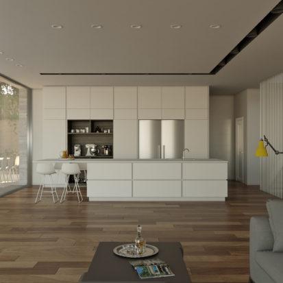 Дизайн интерьера кухни в доме