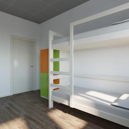 Дизайн номера в хостеле