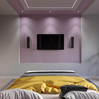 Дизайн спальни гламур