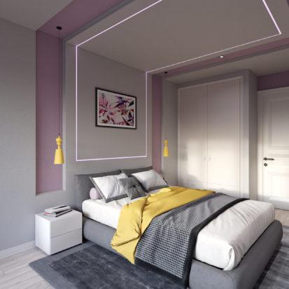 Дизайн спальни квартира
