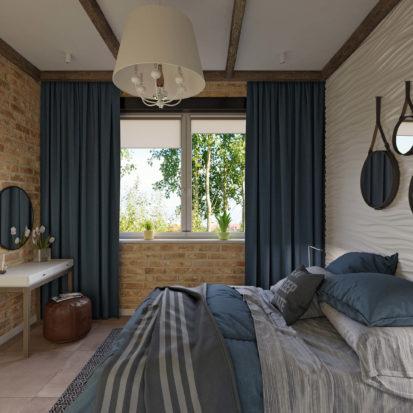Дизайн спальни кровать