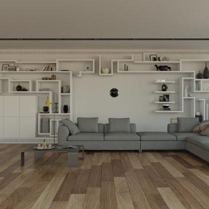 Интерьер дома гостинная
