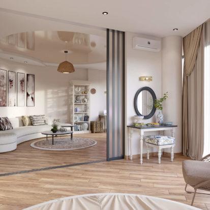 Интерьер квартиры спальня