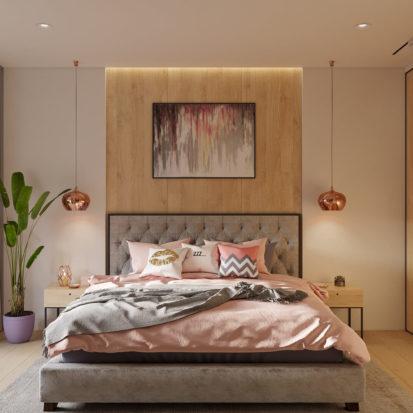 Современный дизайн проект спальни в квартире