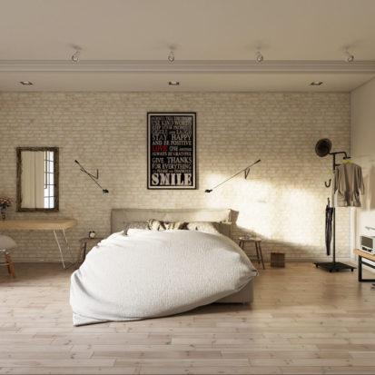 Современный дизайн спальни в квартире