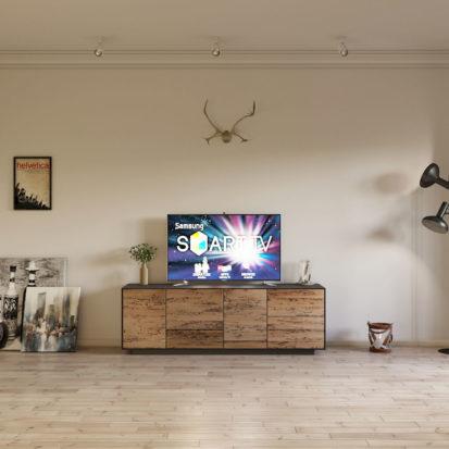 Современный интерьер спальни в квартире