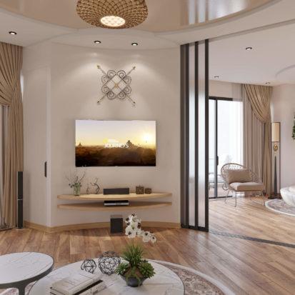 Спальня в интерьере квартиры