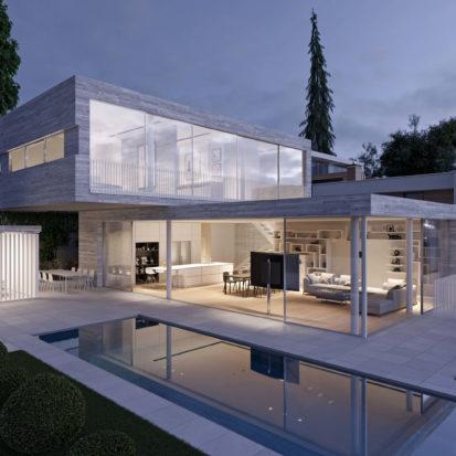 Дизайн проект экстерьера дома