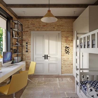 Дизайн дома комната для детей