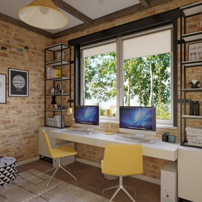 Дизайн дома рабочее место