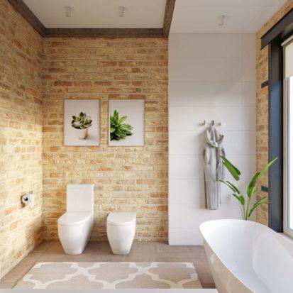 Дизайн дома унитаз биде