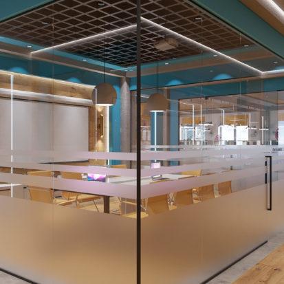 Дизайн офиса Киев - комната для переговоров