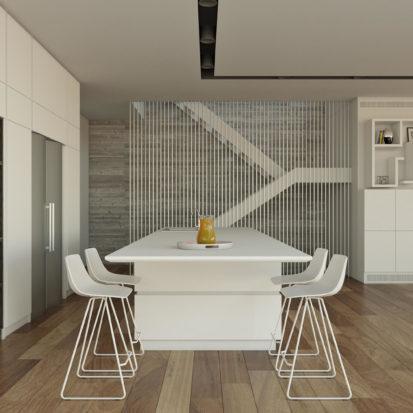 Дизайн кухни в гостиной
