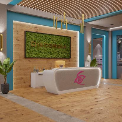 Дизайн офиса Киев приемная