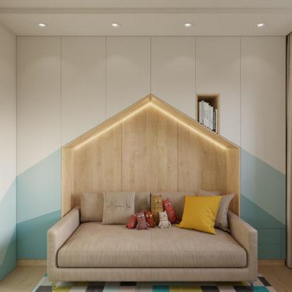 Дизайн проект квартиры детская