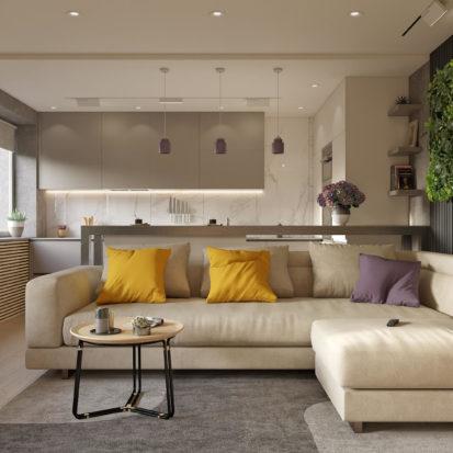 Дизайн проект квартиры Запорожье