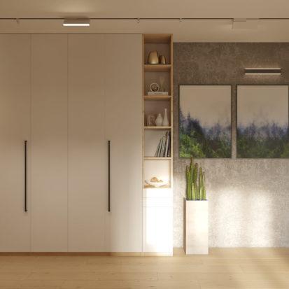 Дизайн проект квартиры прихожая