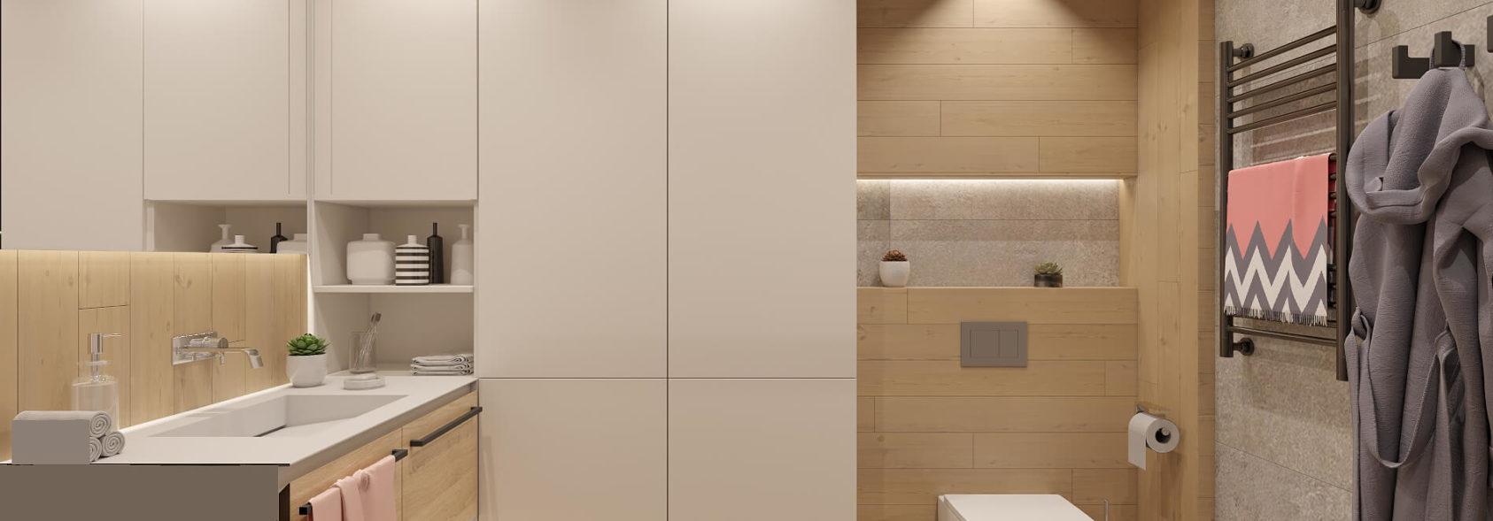 Дизайн проект квартиры санузел