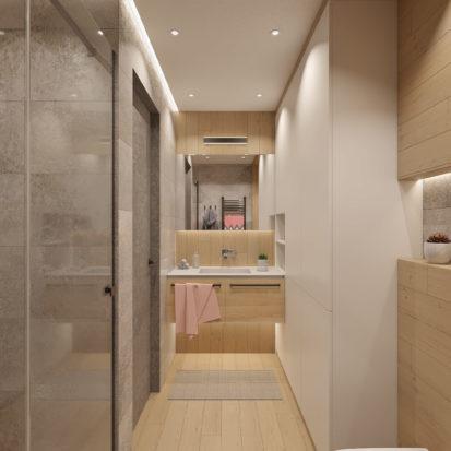 Дизайн проект квартиры умывальник