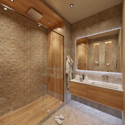 Интерьер квартиры дизайн ванной