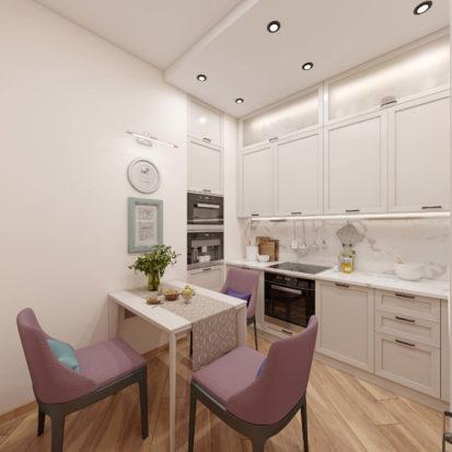 Интерьер квартиры дизайн кухни