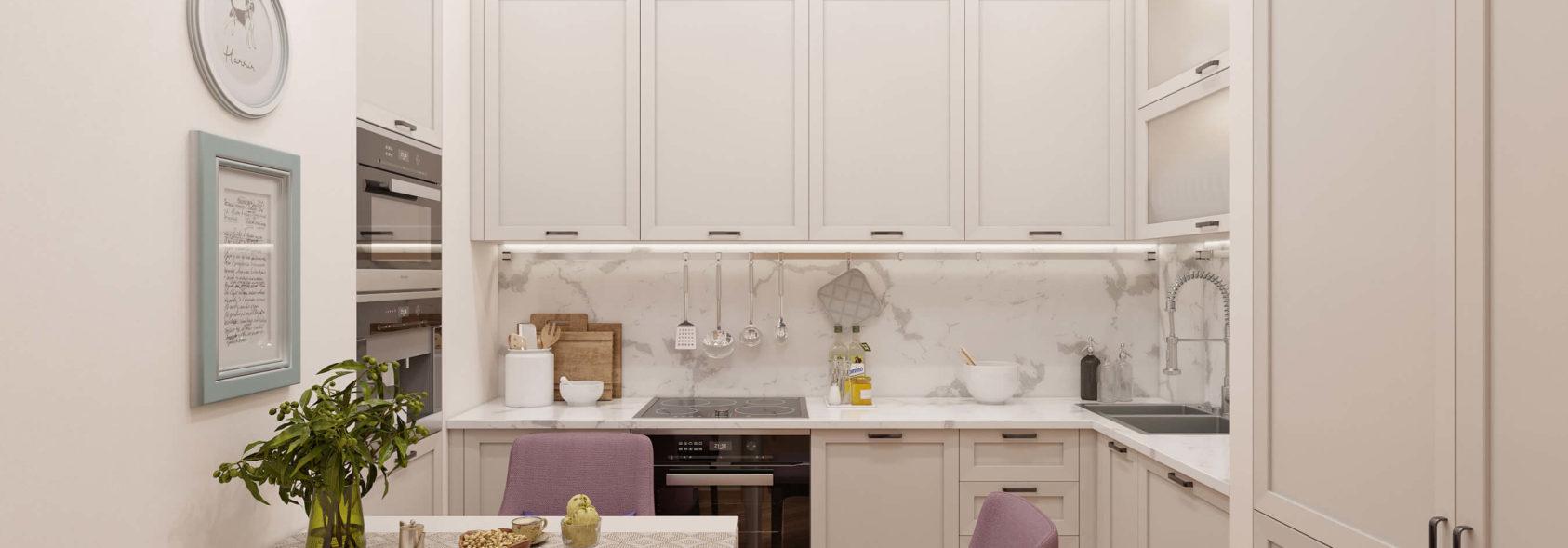 Интерьер квартиры кухня