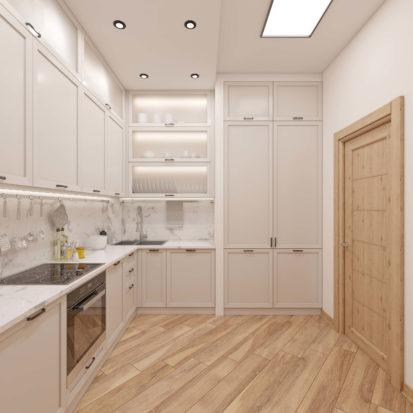 Интерьер квартиры кухонный гарнитур