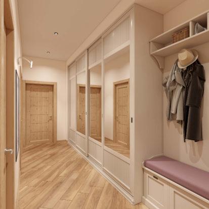 Интерьер квартиры мебель в прихожую