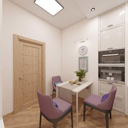 Интерьер квартиры проект кухни