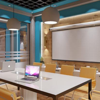 Дизайн офиса Киев - комната переговоров
