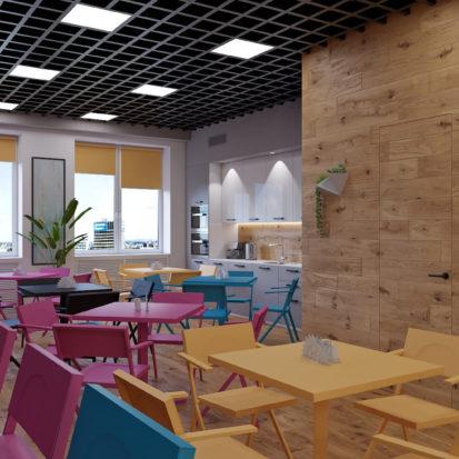 Дизайн офиса Киев - кухня в офисе дизайн