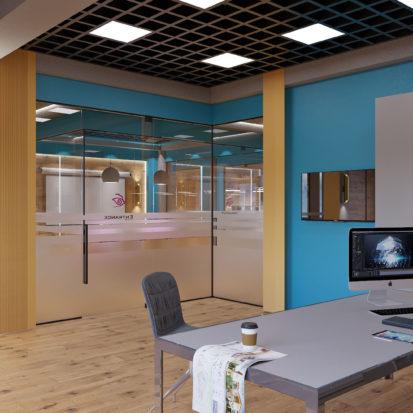 Дизайн офиса Киев - кабинет директора