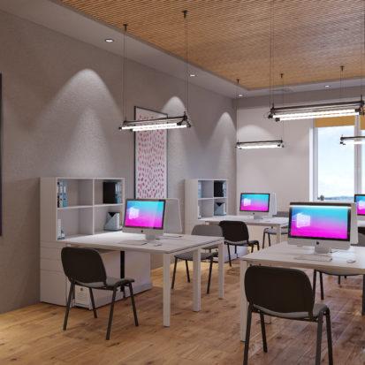 Дизайн офиса Киев - офисное помещение дизайн