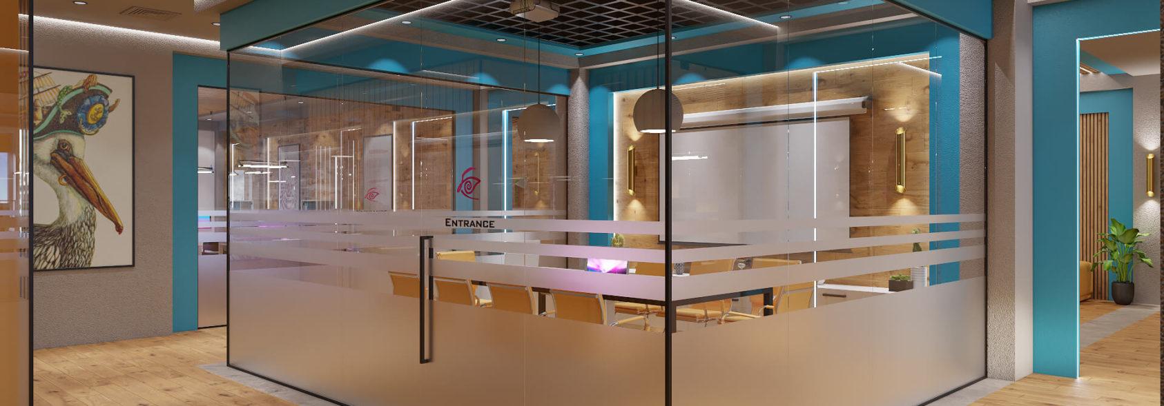 Дизайн офиса Киев - Переговорная интерьер