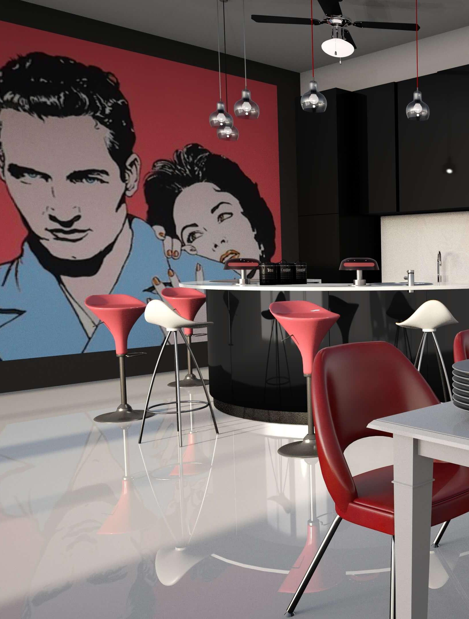 дизайн квартиры в новостройке, Dofamine