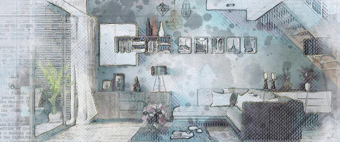 дизайнерский ремонт квартиры, Dofamine