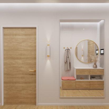 Дизайн интерьера Запорожье - прихожая
