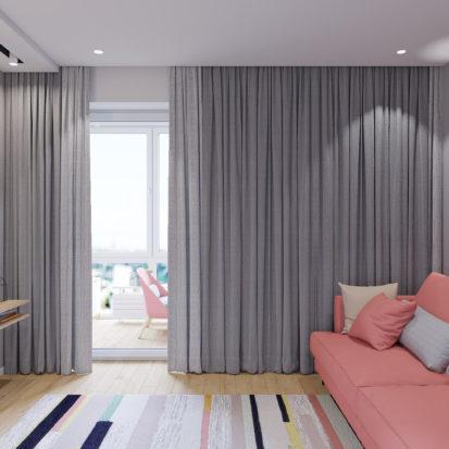 Дизайн интерьера Запорожье - гостевая