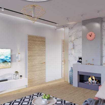 Дизайн интерьера Запорожье - гостиная