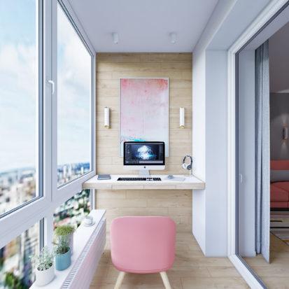 Дизайн интерьера Запорожье - гостевая комната