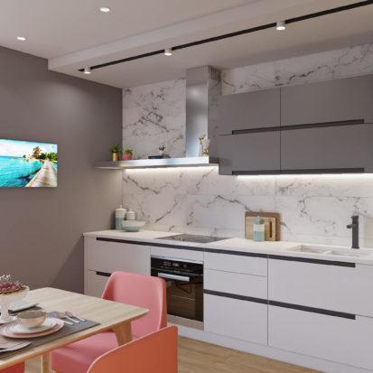 Дизайн интерьера Запорожье кухня