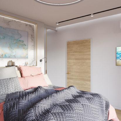 Дизайн интерьера Запорожье - спальня