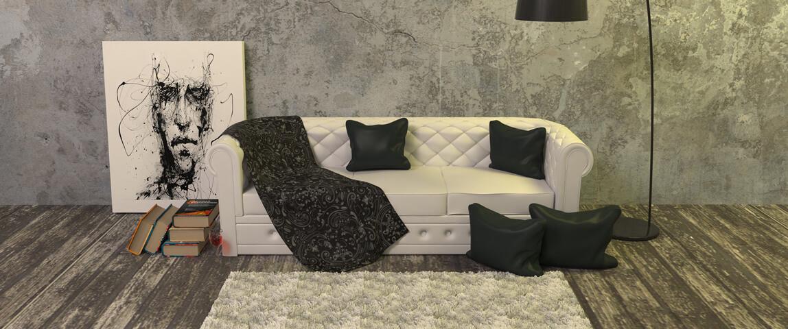 Ковер в дизайне интерьера, Dofamine