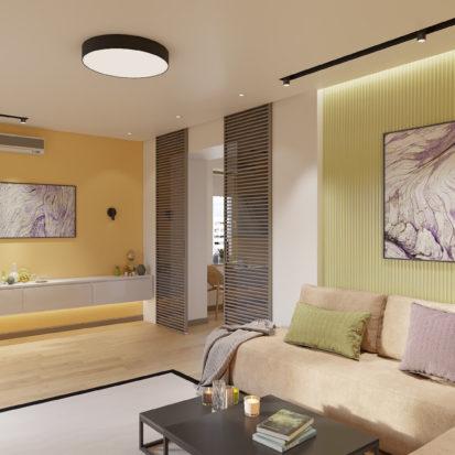 Дизайн квартиры Киев - Дизайн гостиной