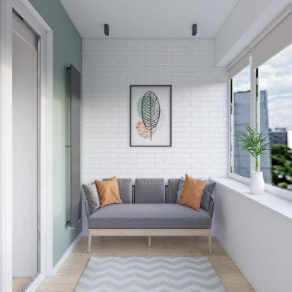 Дизайн интерьера Днепр дизайн балкона