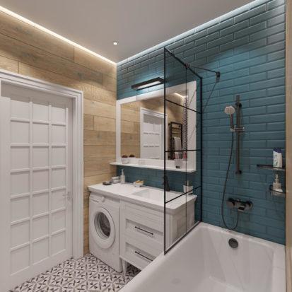 Дизайн интерьера ванной в Днепре