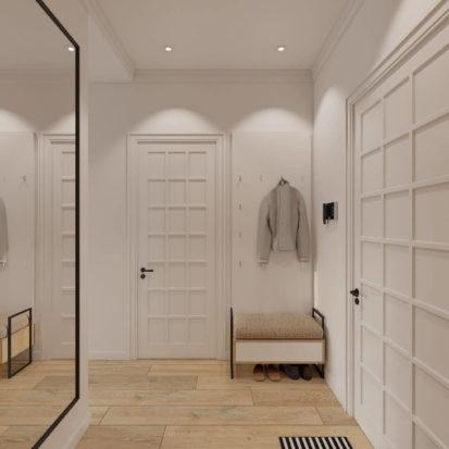 Дизайн интерьера квартиры прихожая Днепр