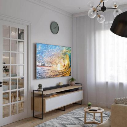 Дизайн интерьера однокомнатной квартиры Днепр